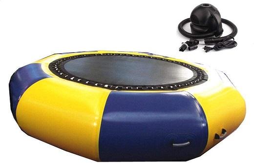 juegos saltos de trampolin al agua