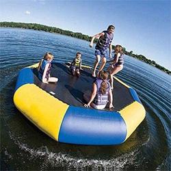 trampolín de agua inflable 3 m