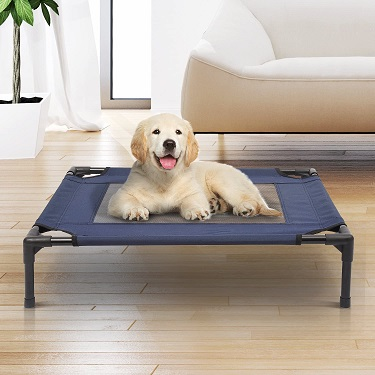 camas elásticas para perro PawHut