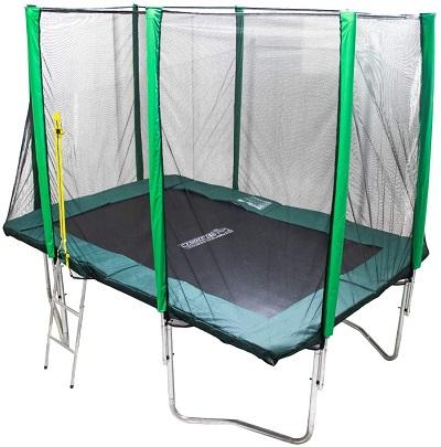 cama elástica rectangular